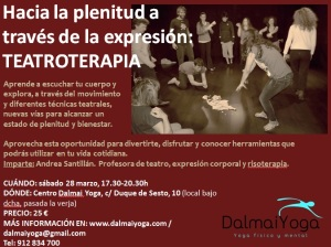 Taller teatroterapia / dalmaiyoga